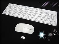 Клавиатура беспроводная Apple 2.4 (радио) + мышка (англ. + русск.))