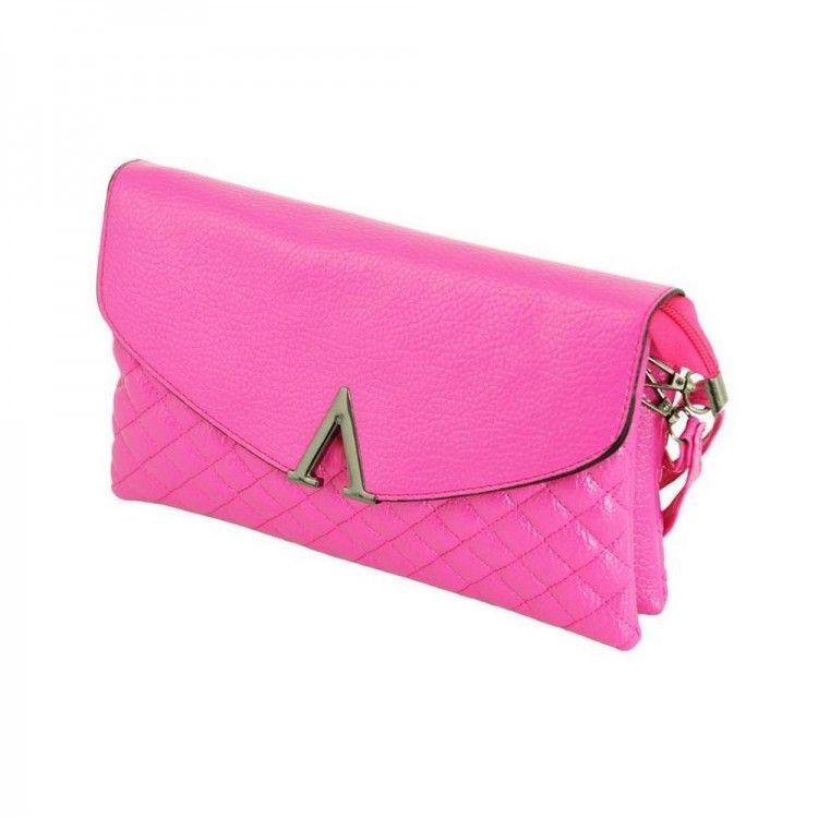 25cd99ecfeb3 Женский клатч ярко-розового цвета Traum арт. 7210-64 - Интернет-магазин