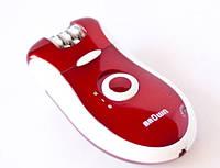 Эпилятор Brown MP-2068, набор 2 в 1 для женщин, в комплекте с бритвенной насадкой