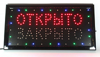 Вывеска LED Открыто/закрыто CH2260 (Euroline)