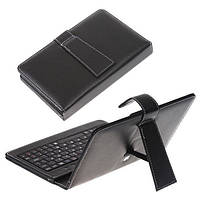 "Чехол клавиатура для планшета 9"" black micro USB"
