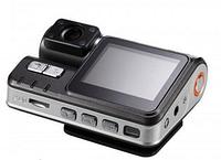 Видеорегистратор 2 камеры DVR i1000 x2 с выносной камерой
