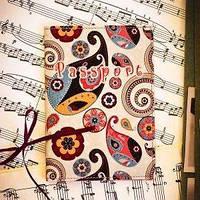 Обложка для паспорта Бабушкины огурчики