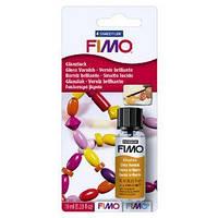 Лак Fimo Фимо, для полимерной глины, на водной основе глянцевый с кисточкой, 10мл, фото 1