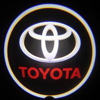 Дверной логотип LED LOGO 001 TOYOTA, Светодиодная подсветка на двери с логотипом