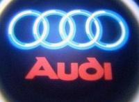 Дверной логотип LED LOGO 010 AUDI, Светодиодная подсветка на двери с логотипом