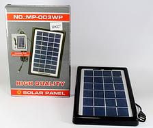 Солнечная панель с возможностью заряжать мобильный телефон Solar board 3W-9V + torch charger