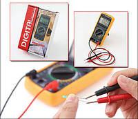 Мультиметр dt-9205a, многофункциональный цифровой тестер, измерение емкости, тока, напряжения, сопротивления