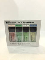 Парфюмерные наборы с феромонами ( 4 шт по 15 мл ) Dolce&Gabbana