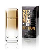 Туалетная вода Carolina Herrera 212 vip Club Edition Men