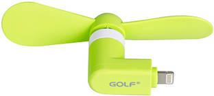 USB-вентилятор GOLF F1-8 pin Mini Fan Green
