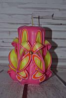 Свечка на подарок для девочки л-037