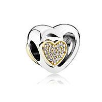 Союз любящих сердец шарм Pandora