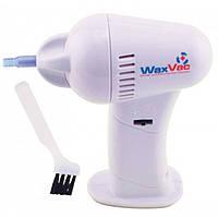 Прибор для чистки ушей ушечистка WaxVac Ear cleaner, эффективная ушечистка