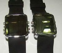 Часы наручные LED 2168/2169 зеркало, электронные, унисекс, спортивные