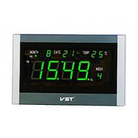 Говорящие настенные часы с термометром 771 Т-4