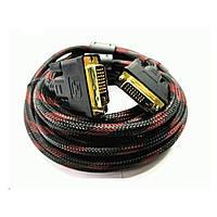 Компьютерный кабель DVI/DVI  2 ферит. 1,5м