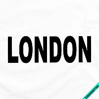 Термонаклейки для бизнеса на чулки London [7 размеров в ассортименте] (Тип материала Матовый)
