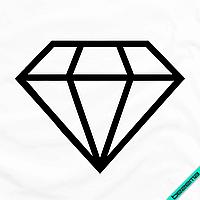 Термопечать для бизнеса на пояса Кристал [7 размеров в ассортименте] (Тип материала Матовый)