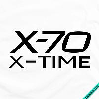 Термопринты для бизнеса на туники X-70 X-Time [7 размеров в ассортименте] (Тип материала Матовый)