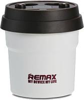 Сетевое зарядное устройство Remax Coffee Cup Car Charger CR-2XP 2USB White