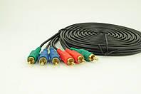 Аудио-кабель 3RCA 5 метров