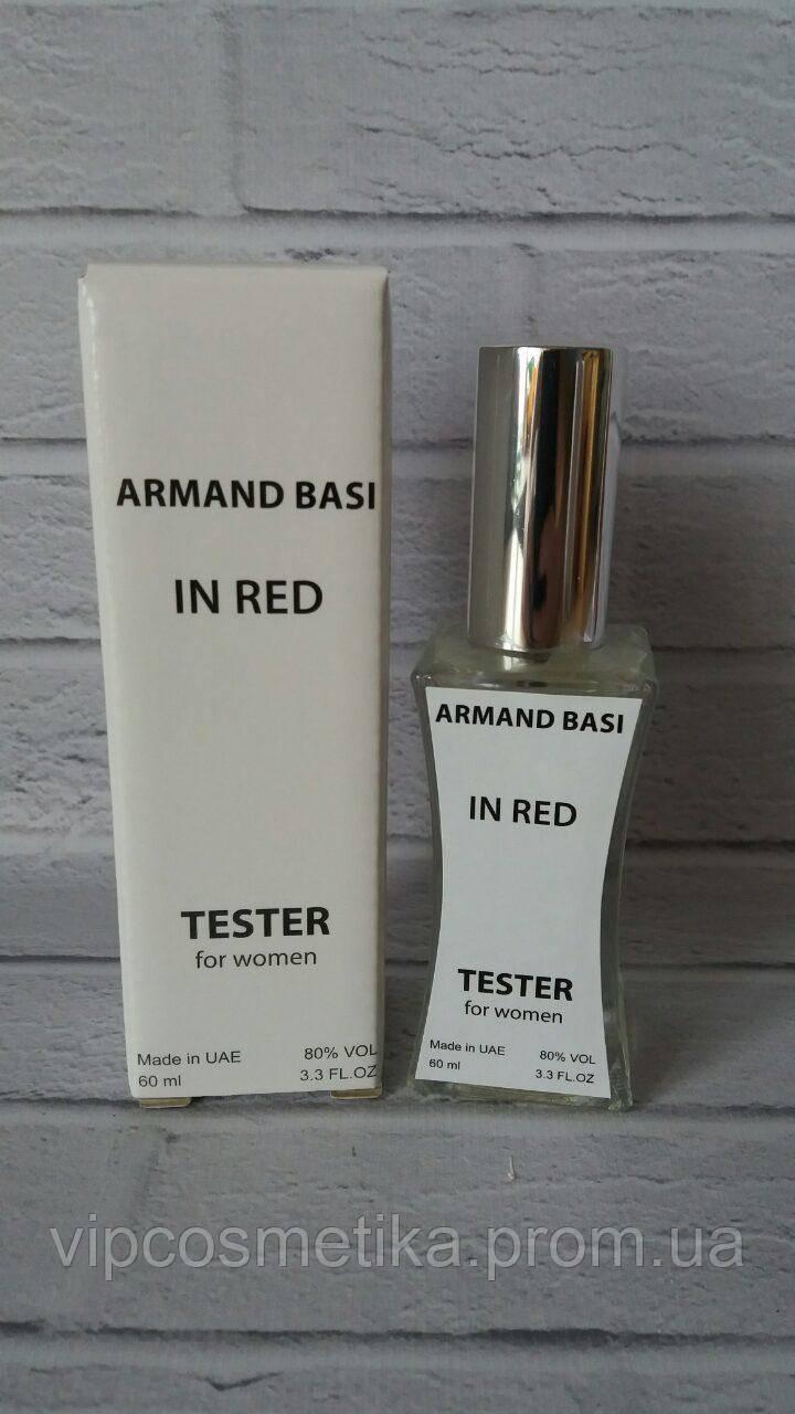 Armand Basi In Red 60мл тестер   для женщин