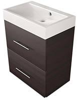 """Шкафчик навесной Fancy marble Crete 55 с раковиной """"UM-550"""" 550x360x610 (ШН-22М)"""