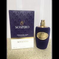 Sospiro Perfumes Accento edp 100 ml тестер для женщин