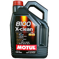 Моторное масло Motul 8100 X-clean 5W-40 5 л (854151 / 102051)