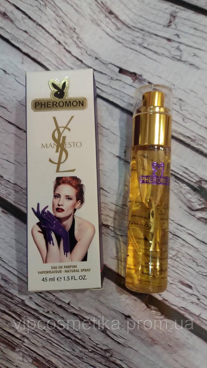 Женский мини-парфюм с феромонами 45 мл Yves Saint Laurent Manifesto