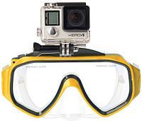 Крепление для экшн-камеры SJCAM dive mask yellow