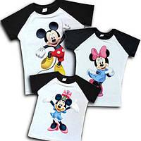 """Комплект футболок для всей семьи """"микки маусы"""" family look Family look"""