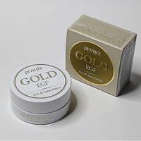 Гидрогелевые патчи для кожи вокруг глаз с золотом и EGF Petitfee Gold & EGF Eye & Spot Patch