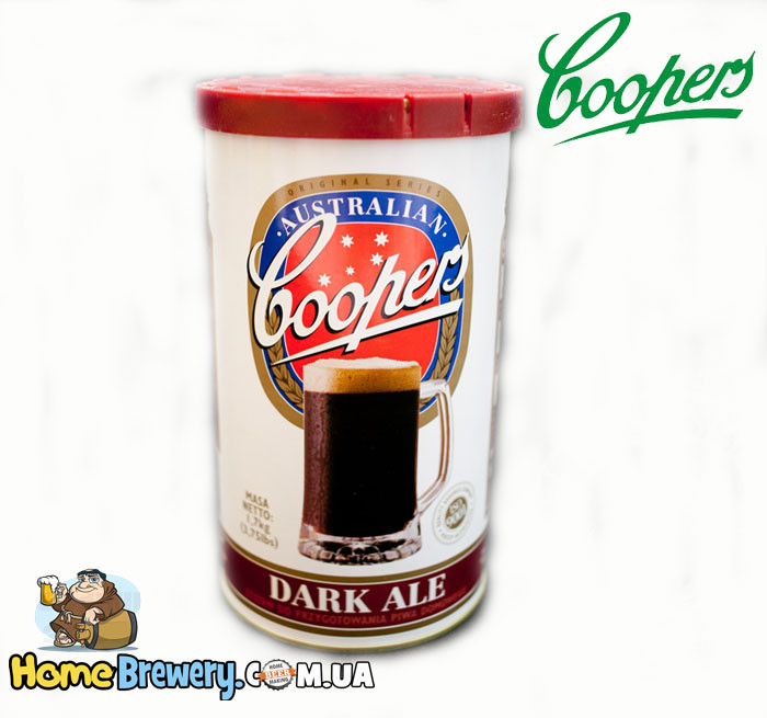 Экстракт пива Coopers Dark Ale 1,7кг