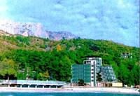 Недострой гостиницы Крым, Кастрополь.