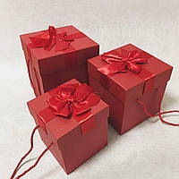Подарочная коробка, 3 шт.