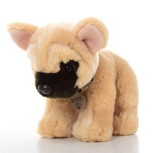 Мягкая игрушка SD0471 (6шт) собачка, бульдог, 35см