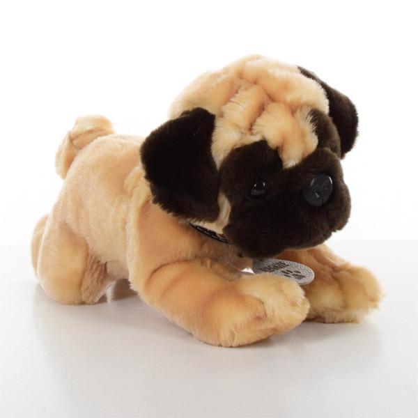 Мягкая игрушка SD5455 (12шт) собачка, мопс, 30см