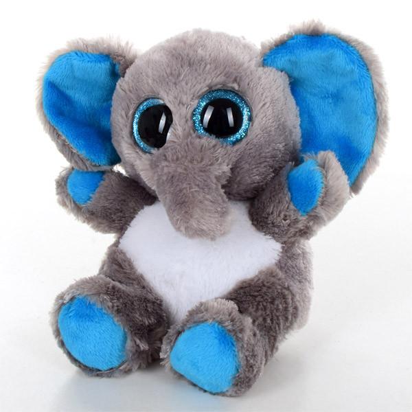 Мягкая игрушка SF0452 (24шт) слон, 15см