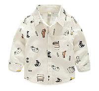 Детская рубашка  90,  130, 140, фото 1