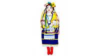 Кукла сувенирная Украиночка синяя