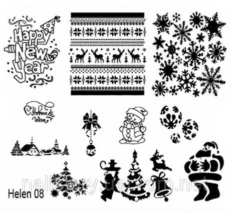 Диск для стемпинга Helen-08, фото 2