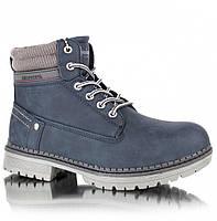 """Зимние детские ботинки (1017/17) ТМ """"American Club"""" (синий) размеры 32-36"""