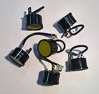 Реле для компрессора холодильника QD 14 1/4А (от 185Вт рабочий ток 1,3А, пуск. ток 9А) биметалл (защита)