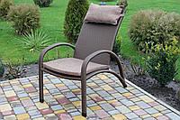 """Кресло """"Пляж"""" из искусственного ротанга. ТМ GreenGard"""