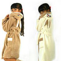 Детский халат с ушками Зайка (разные цвета) АРТ-119.2