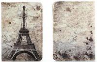 """Обложка на паспорт из мягкой кожи """"Париж"""""""