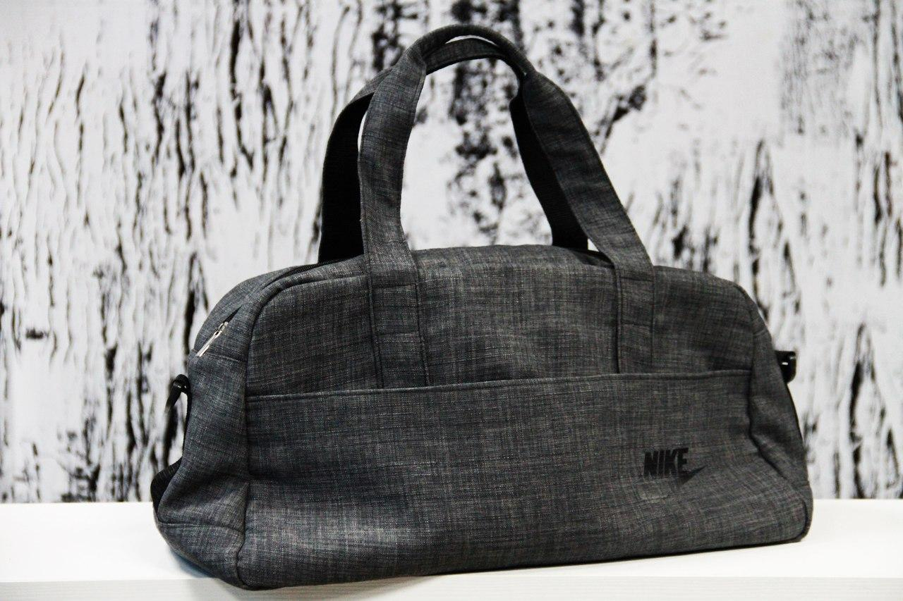 e22e6980 Спортивная сумка Nike Найк тканевая тёмно-серая (реплика), цена 410 грн.,  купить в Киеве — Prom.ua (ID#631264348)