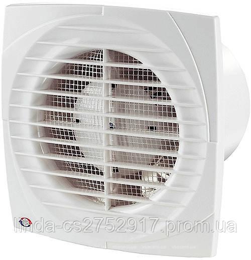 Вентилятор осевой Вентс 125 Д Л, вентилятор на шариковом подшипнике, вентилятор бытовой.